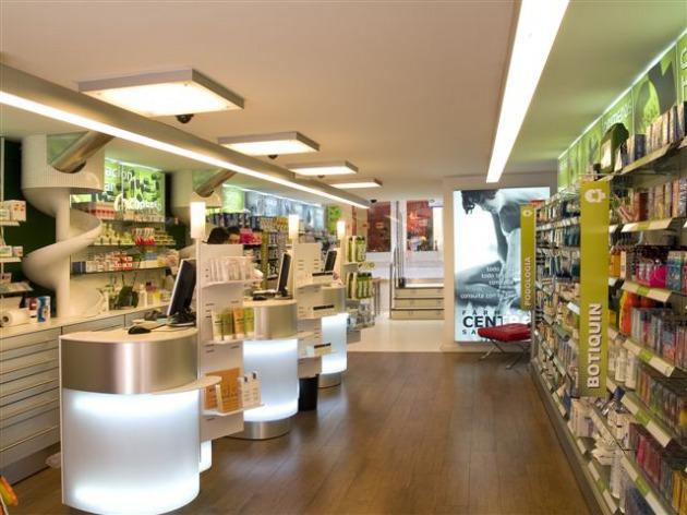 Los muebles para farmacia organizan la tienda for Muebles para farmacia