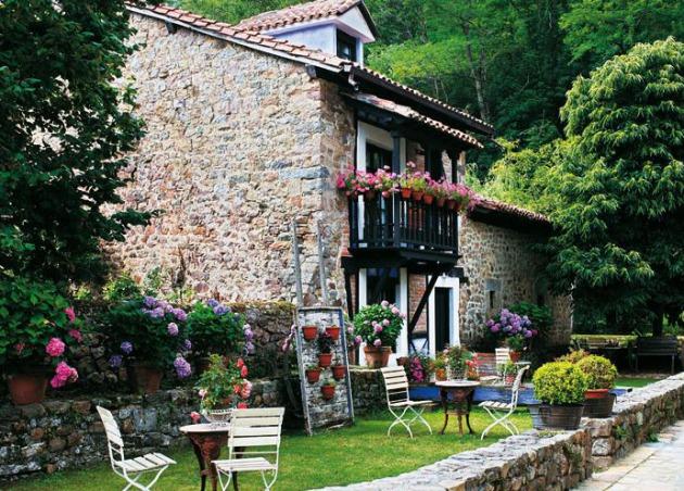 Tips para decorar su casa en una casa r stica moderna for Casa moderna ma calda