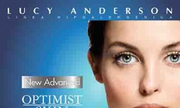 Lucy Anderson presenta New Advanced Optimist Skin