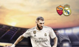 AS Roma 2-2 Real Madrid C.F